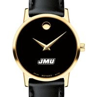 James Madison Women's Movado Gold Museum Classic Leather