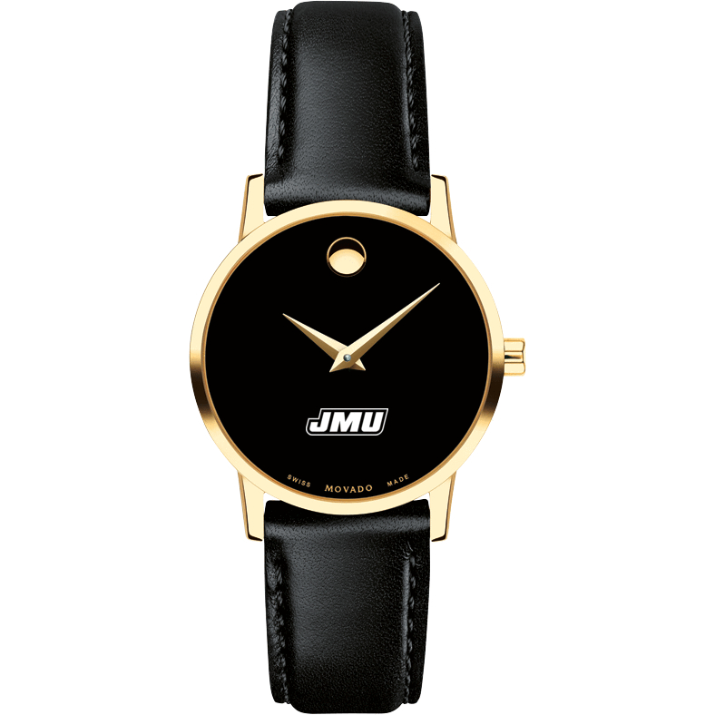 James Madison Women's Movado Gold Museum Classic Leather - Image 2