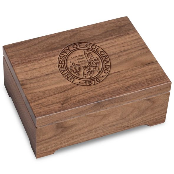 Colorado Solid Walnut Desk Box - Image 1