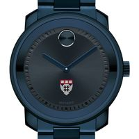 Harvard Business School Men's Movado BOLD Blue Ion with Bracelet