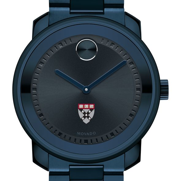 Harvard Business School Men's Movado BOLD Blue Ion with Bracelet