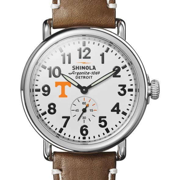 Tennessee Shinola Watch, The Runwell 41mm White Dial - Image 1