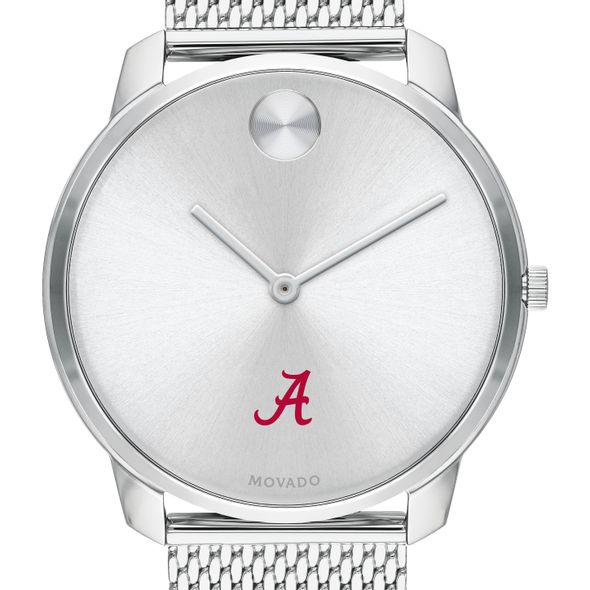University of Alabama Men's Movado Stainless Bold 42 - Image 1