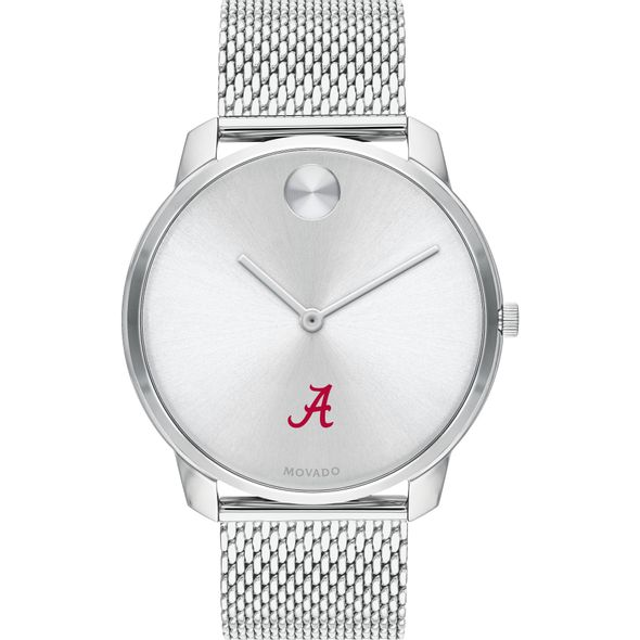 University of Alabama Men's Movado Stainless Bold 42 - Image 2
