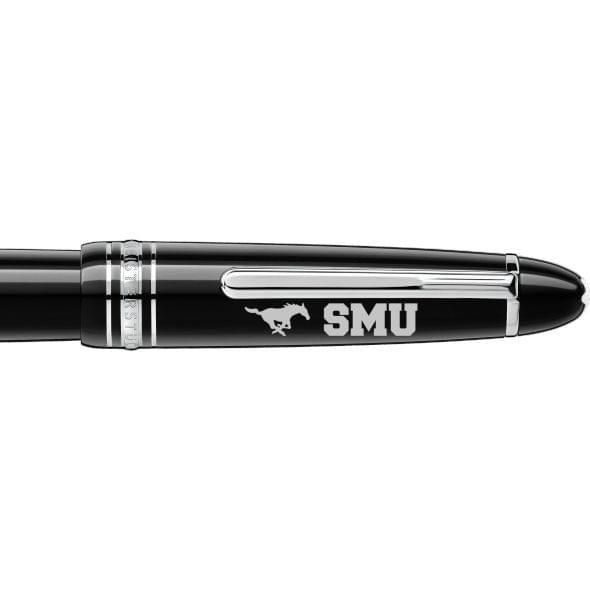 Southern Methodist University Montblanc Meisterstück LeGrand Fountain Pen in Platinum - Image 2