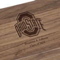 Ohio State Solid Walnut Desk Box - Image 2
