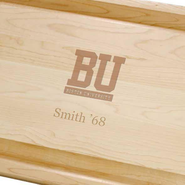 Boston University Maple Cutting Board - Image 2