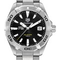 MIT Men's TAG Heuer Steel Aquaracer with Black Dial - Image 1