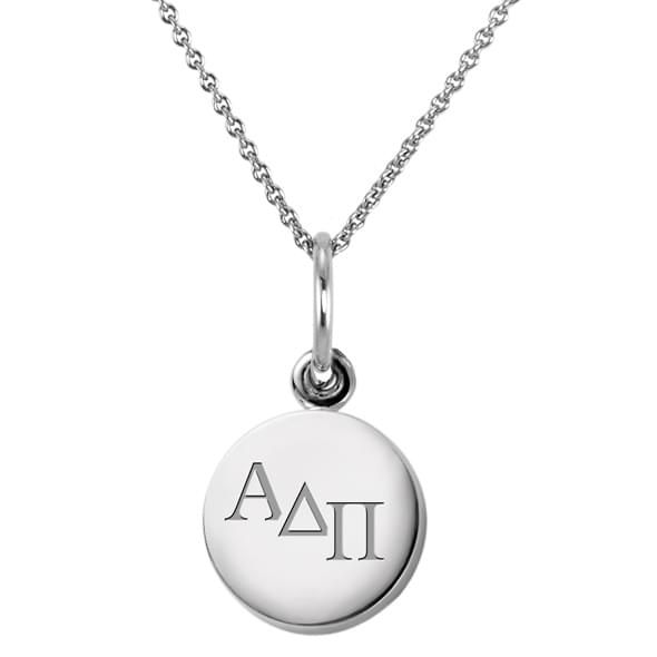 Alpha Delta Pi Sterling Silver Necklace with Sterling Silver Charm - Image 2
