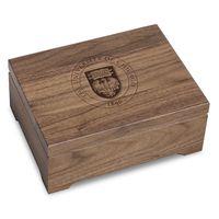 University of Chicago Solid Walnut Desk Box