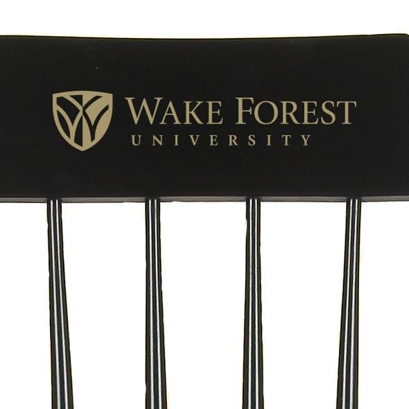 Wake Forest University Captain's Chair by Hitchcock - Image 2