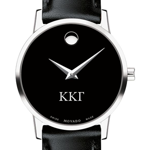 Kappa Kappa Gamma Women's Movado Museum with Leather Strap