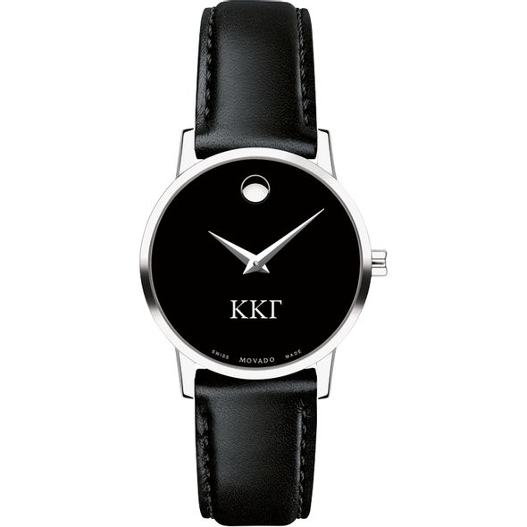 Kappa Kappa Gamma Women's Movado Museum with Leather Strap - Image 2