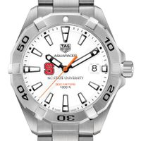 North Carolina State Men's TAG Heuer Steel Aquaracer