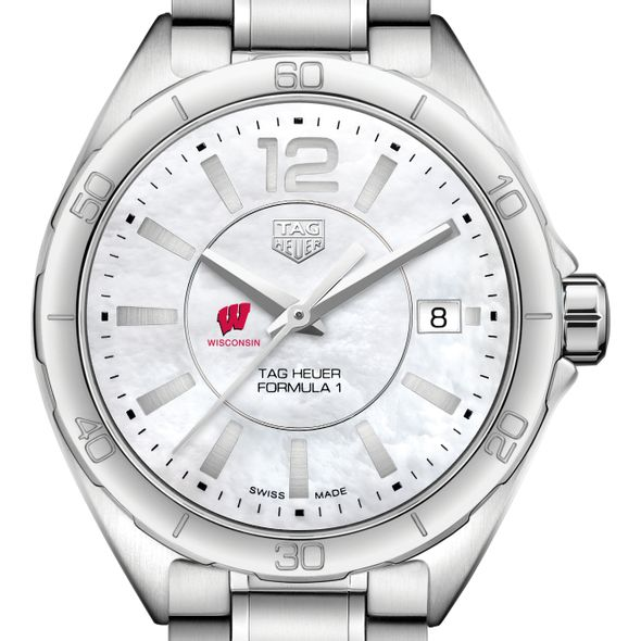 University of Wisconsin Women's TAG Heuer Formula 1 with MOP Dial