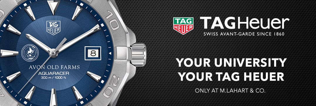 Avon Old Farms TAG Heuer. Your University, Your TAG Heuer
