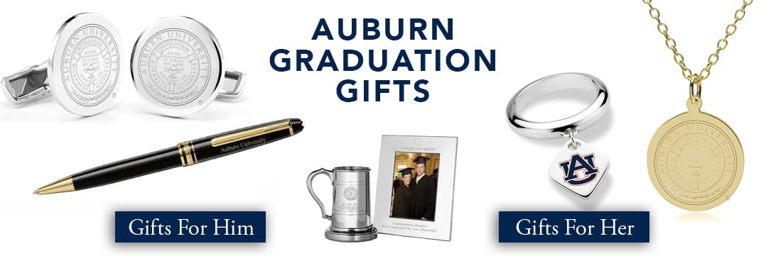 Auburn Graduation Gifts for Her and for Him