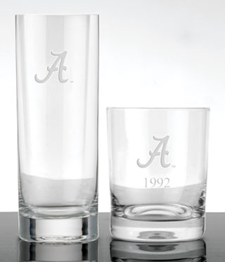 Alabama - Glasses & Barware