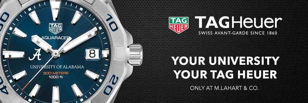 Alabama TAG Heuer. Your University, Your TAG Heuer