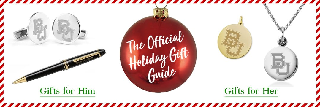 The Official Holiday Gift Guide for Baylor