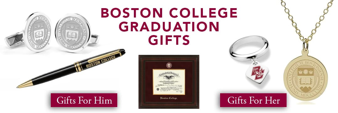 Boston College Graduation Gifts for Her and for Him