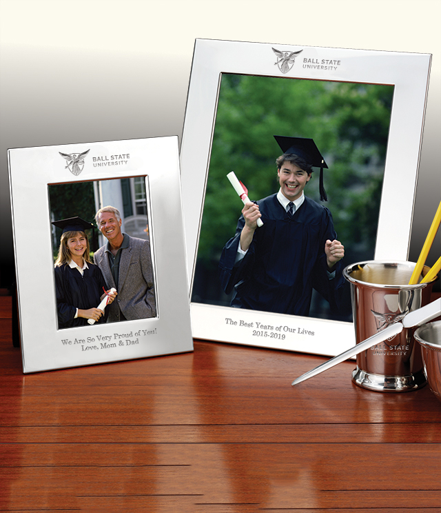 Ball State University Picture Frames and Desk Accessories - Ball State University Commemorative Cups, Frames, Desk Accessories and Letter Openers