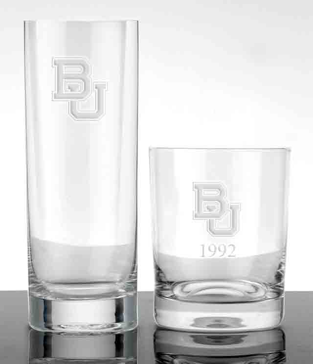 Baylor - Glasses & Barware