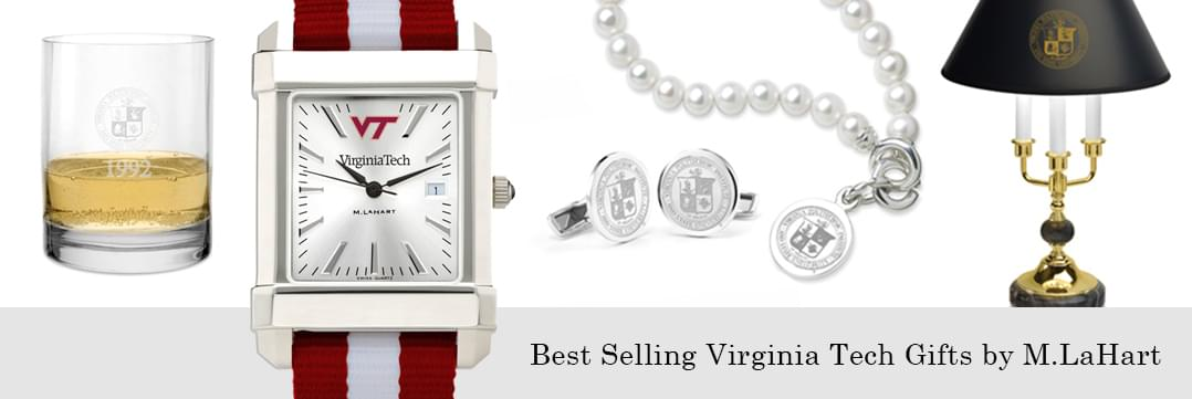 Best selling Virginia Tech watches and fine gifts at M.LaHart