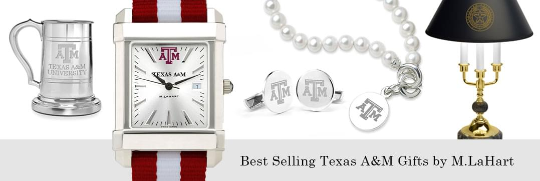 Best selling Texas A&M watches and fine gifts at M.LaHart