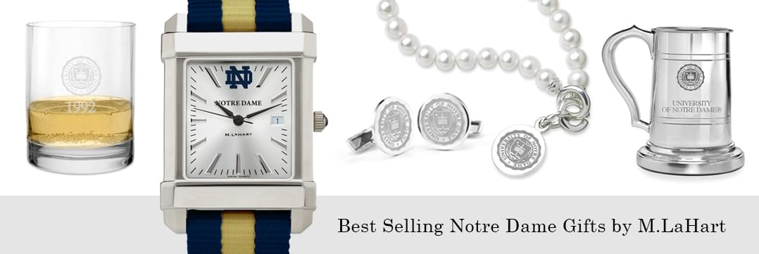 Best selling Notre Dame watches and fine gifts at M.LaHart