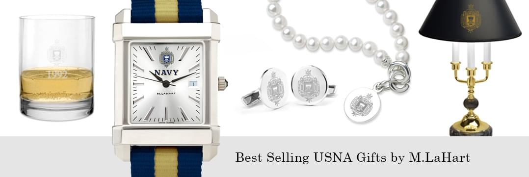 Best selling Naval Academy watches and fine gifts at M.LaHart