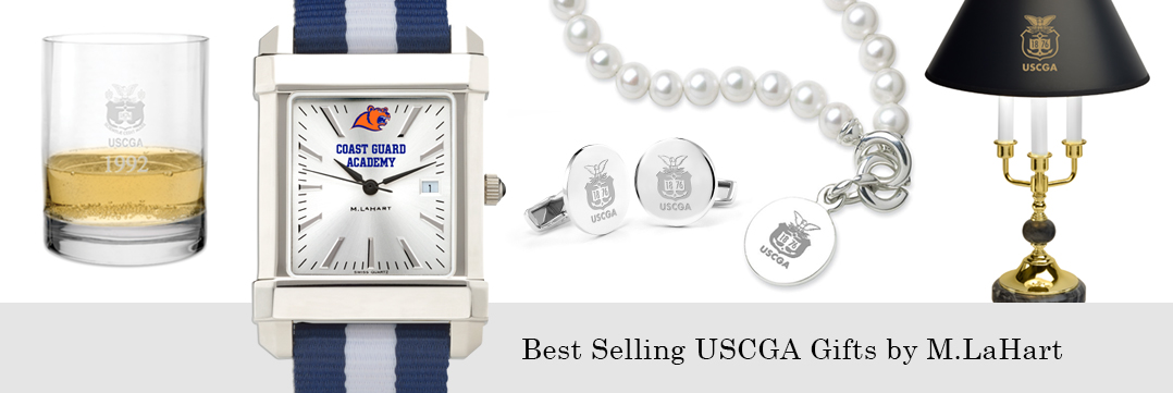 Best selling Coast Guard Academy watches and fine gifts at M.LaHart