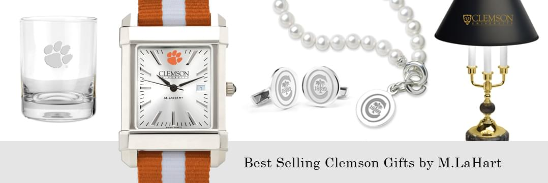 Best selling Clemson watches and fine gifts at M.LaHart