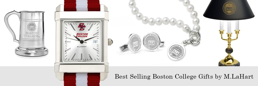 Best selling Boston College watches and fine gifts at M.LaHart