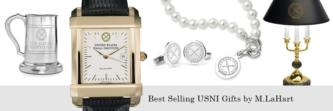 Best selling U.S. Naval Institute watches and fine gifts at M.LaHart