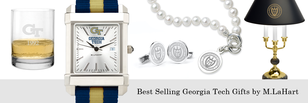 Best selling Georgia Tech watches and fine gifts at M.LaHart