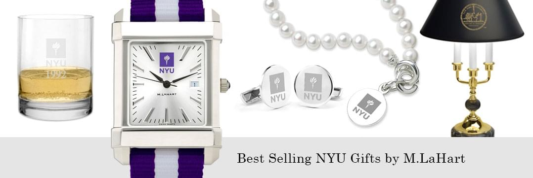 Best selling NYU watches and fine gifts at M.LaHart