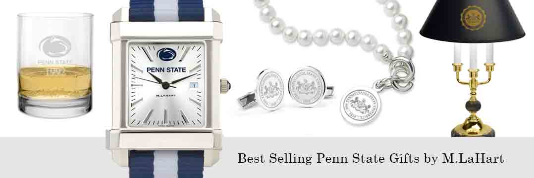 Best selling Penn State watches and fine gifts at M.LaHart