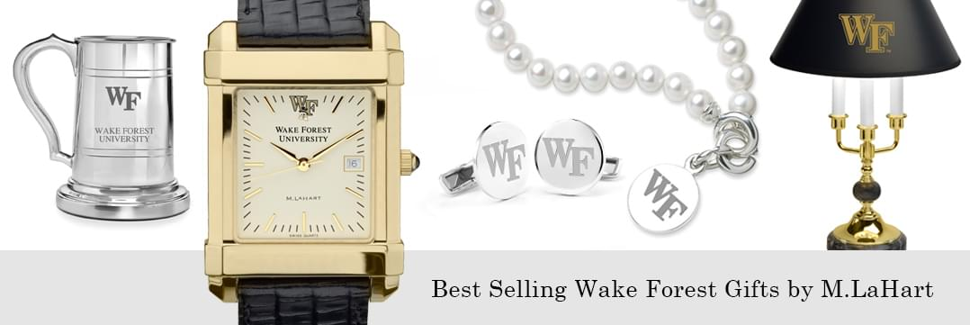 Best selling Wake Forest watches and fine gifts at M.LaHart