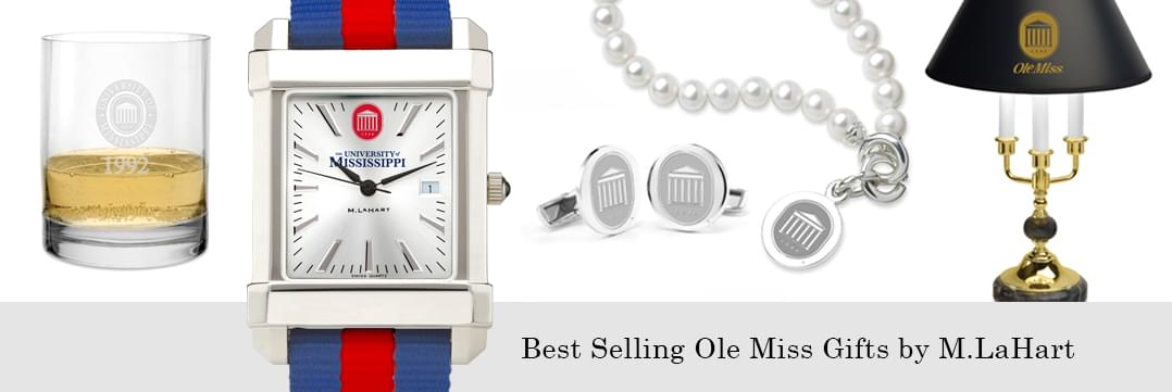 Best selling Ole Miss watches and fine gifts at M.LaHart