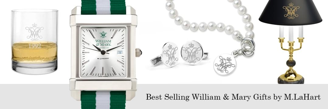 Best selling William & Mary watches and fine gifts at M.LaHart