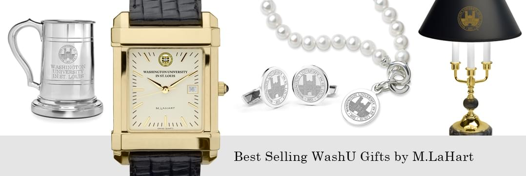 Best selling WUSTL watches and fine gifts at M.LaHart