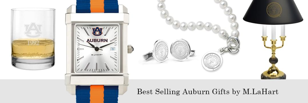 Best selling Auburn watches and fine gifts at M.LaHart