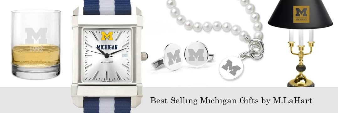 Best selling Michigan watches and fine gifts at M.LaHart