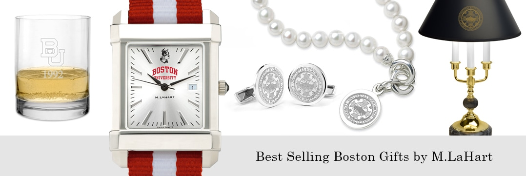 Best selling Boston University watches and fine gifts at M.LaHart
