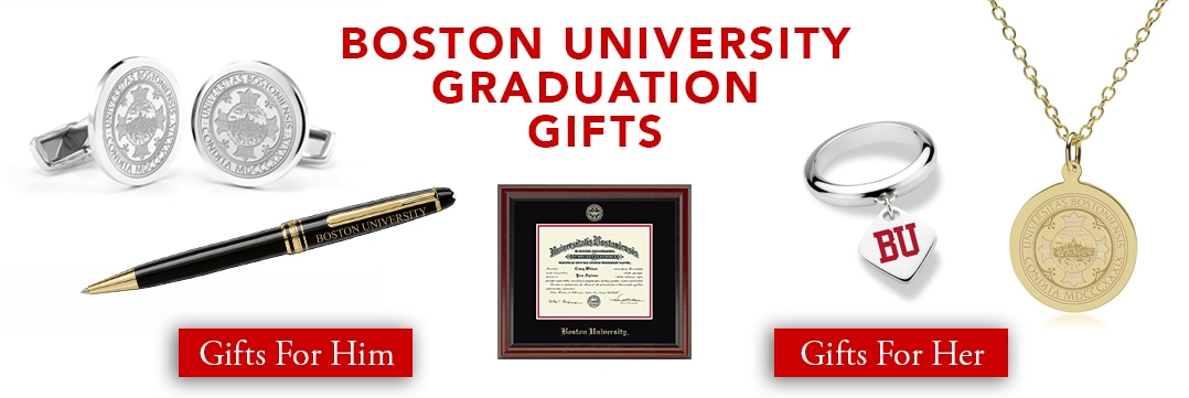 Boston University Graduation Gifts for Her and for Him