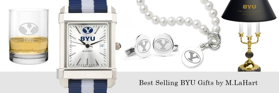 Best selling Brigham Young University watches and fine gifts at M.LaHart
