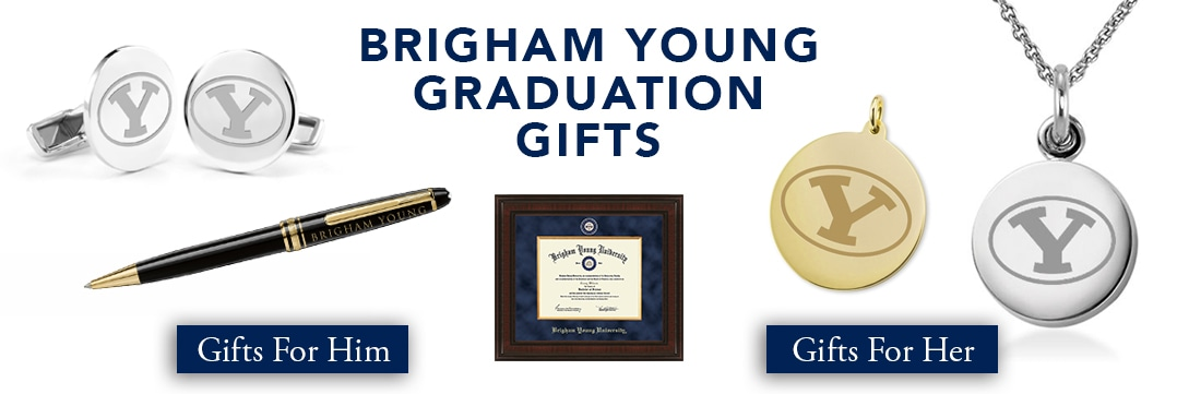 Brigham Young University Graduation Gifts for Her and for Him