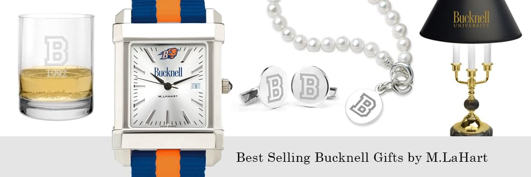Best selling Bucknell watches and fine gifts at M.LaHart