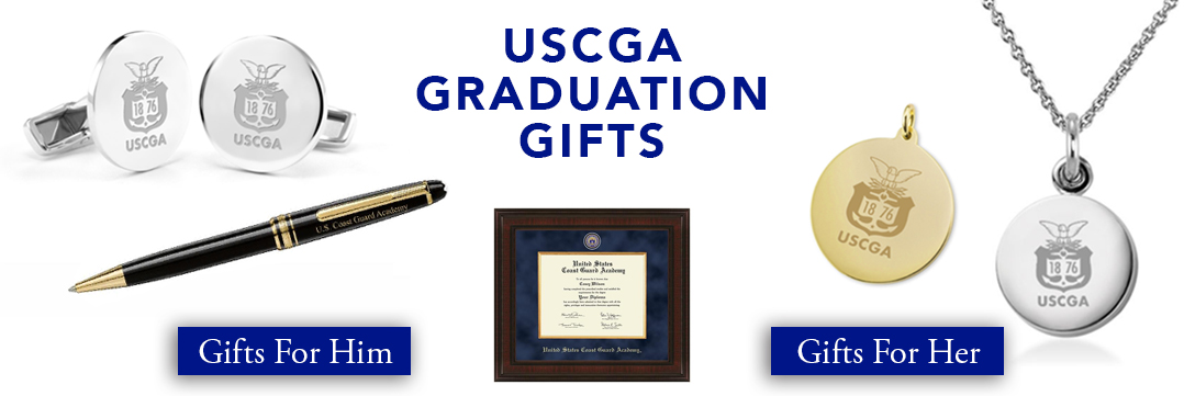 Coast Guard Academy Graduation Gifts for Her and for Him